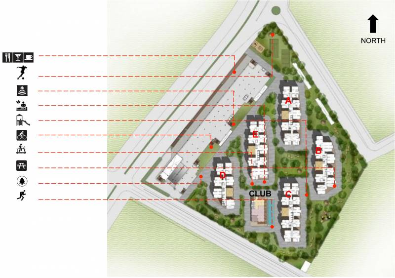 one-city Images for Site Plan of Incor One City
