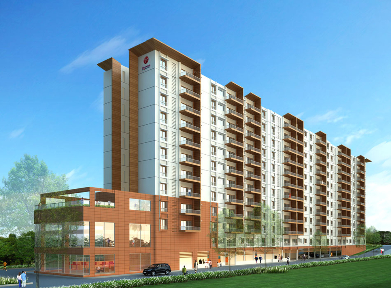 Images for Elevation of Mantri Group Primus Reflection