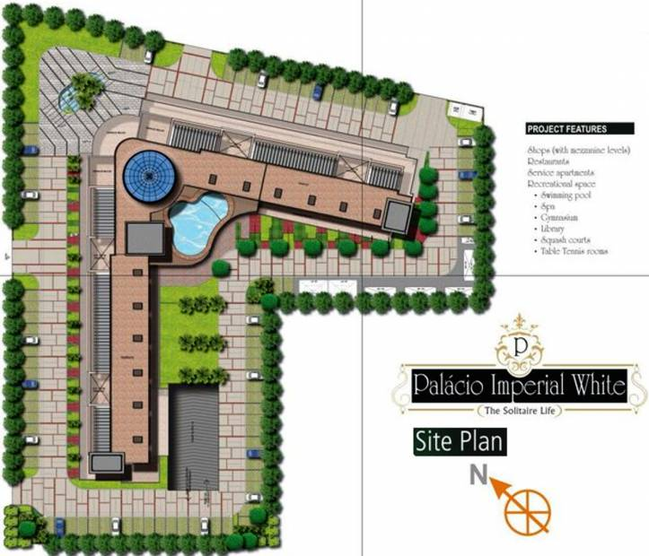 Images for Site Plan of Tulsiani Palacio Imperial White