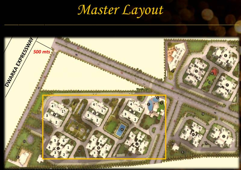Images for Layout Plan of Godrej Signature Homes