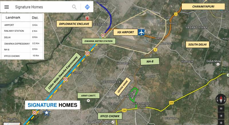 Images for Location Plan of Godrej Signature Homes
