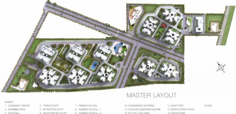 Images for Master Plan of Godrej Signature Homes