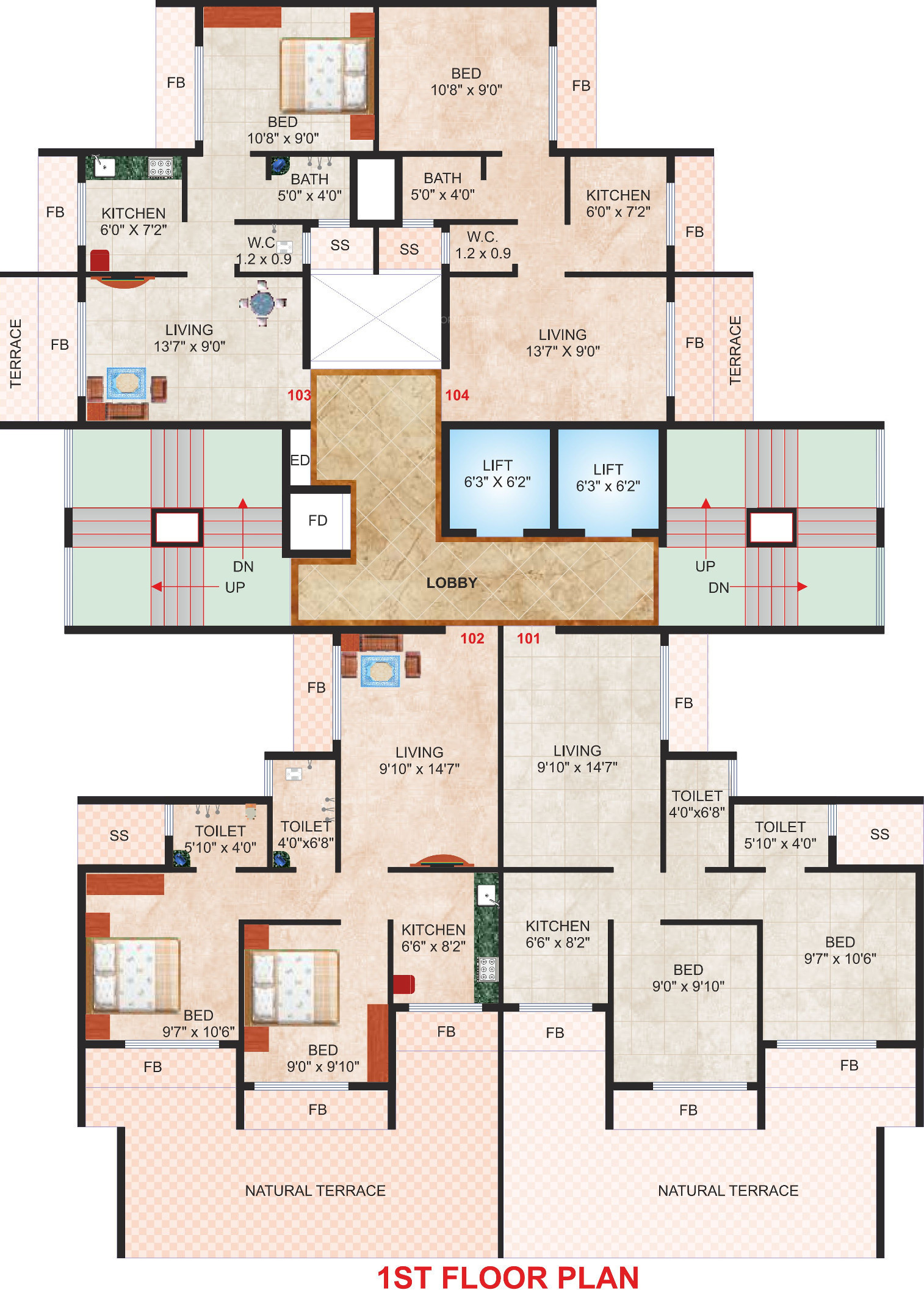 576 sq ft 1 bhk 1t apartment for sale in shree raj group for 576 sq ft floor plan
