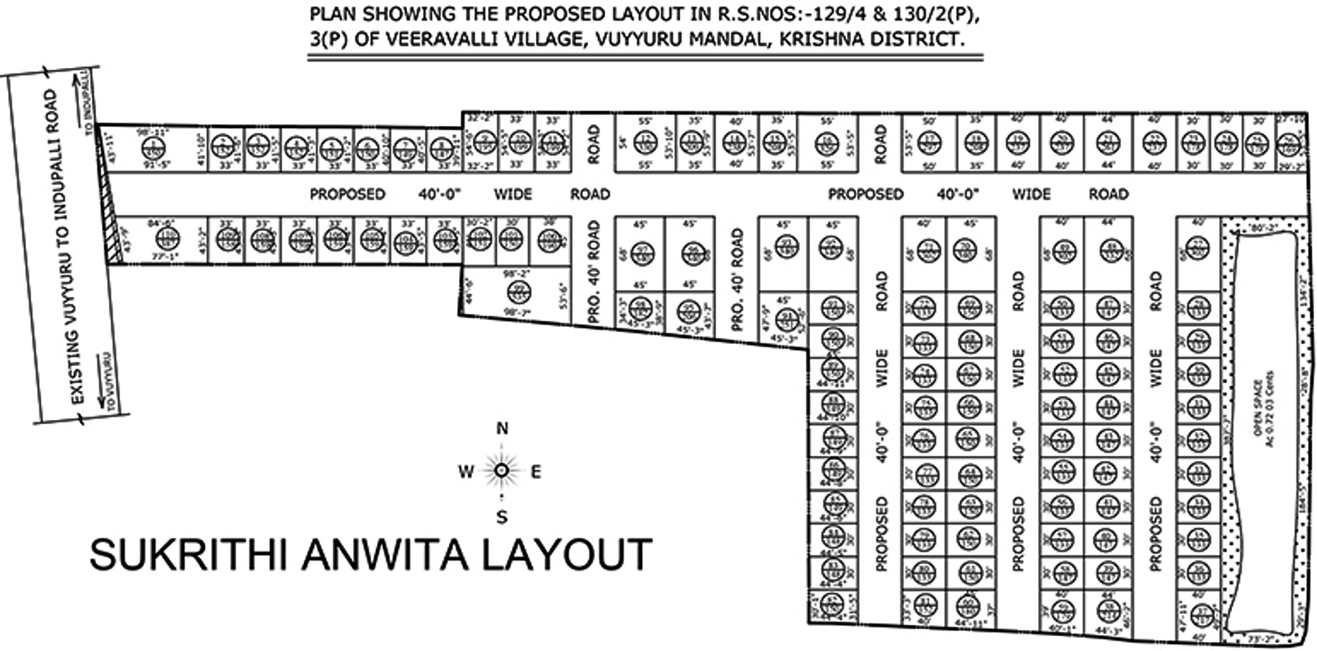 1800 Sq Ft Plot For Sale In Subhagruha Projects Sukrithi
