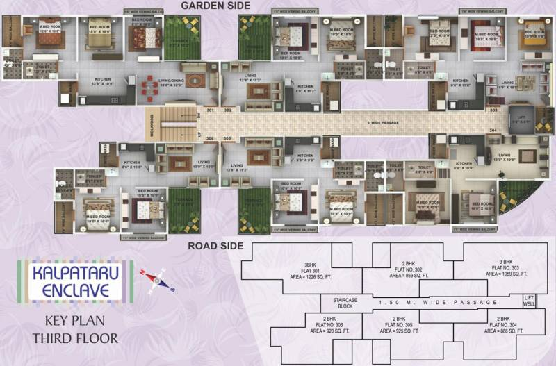 Images for Cluster Plan of Kwality Enclave