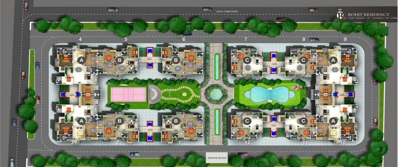 Images for Cluster Plan of Preet Rohit Residency