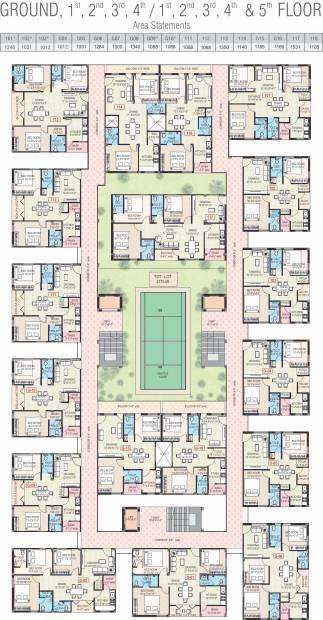 Images for Cluster Plan of Celebrity Uber Heights