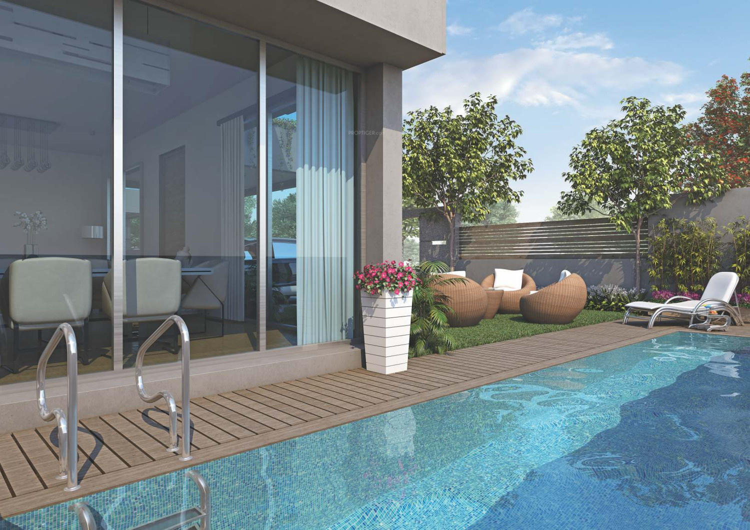 5175 sq ft 4 bhk 4t villa for sale in rk construction - Bungalows with swimming pool in sri lanka ...