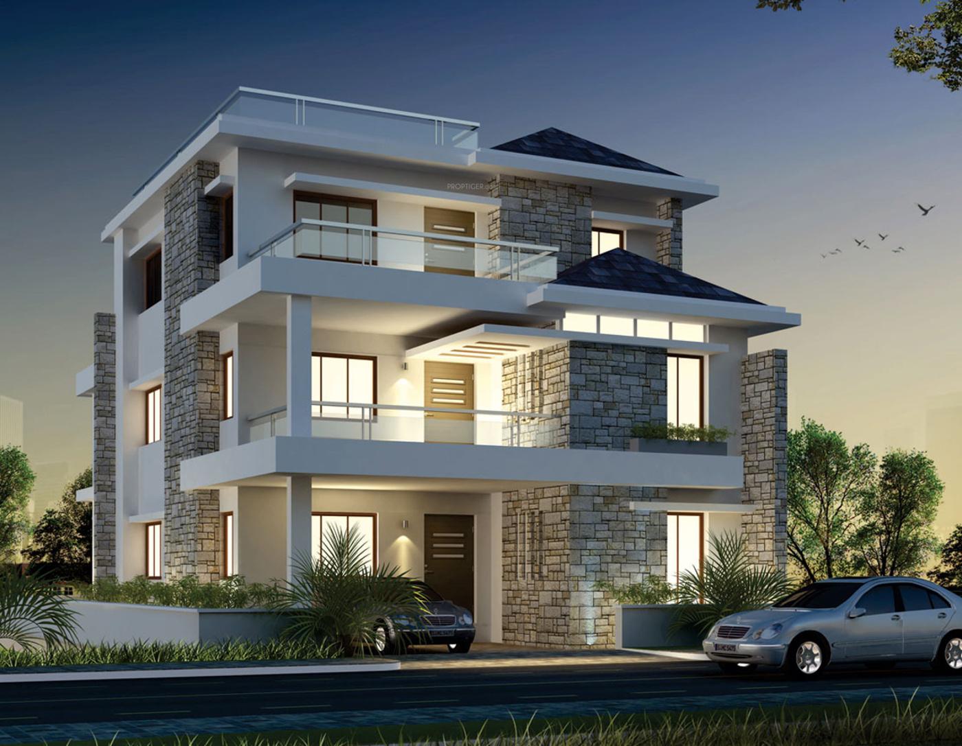 First Floor Elevation In Hyderabad : Cpr palm ridge in kondapur hyderabad price location