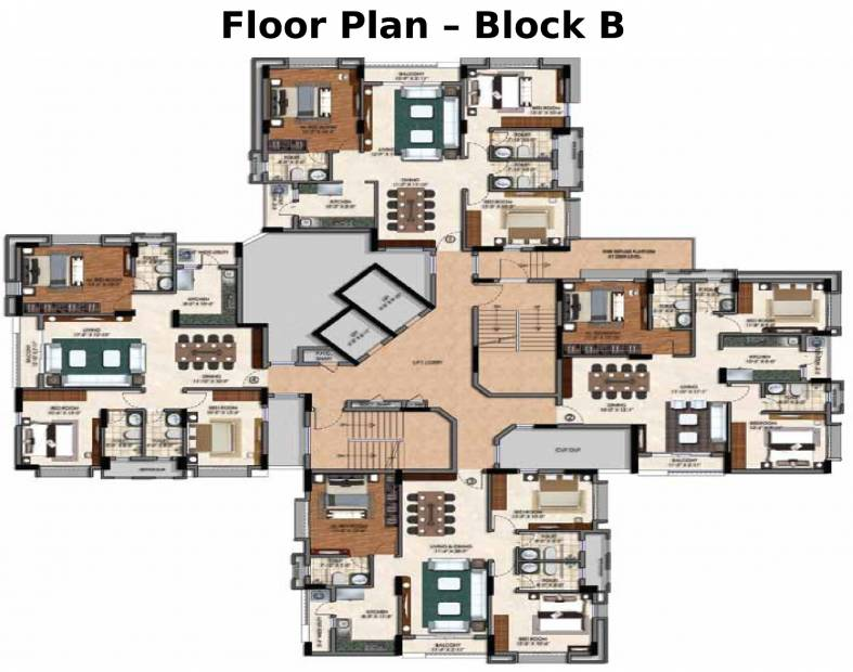 Images for Cluster Plan of Bengal Swan Court