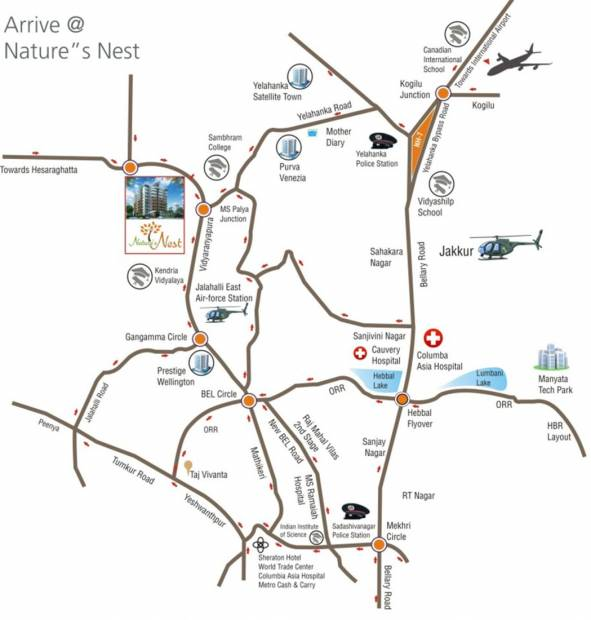 Images for Location Plan of Ashirwad Natures Nest