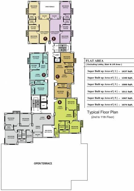 Images for Cluster Plan of KGC La Casa Greens