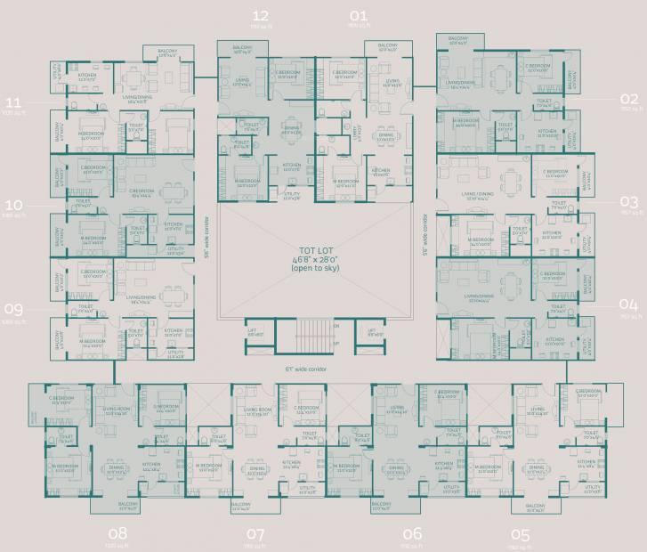 Images for Cluster Plan of Nirmaanika Arbor