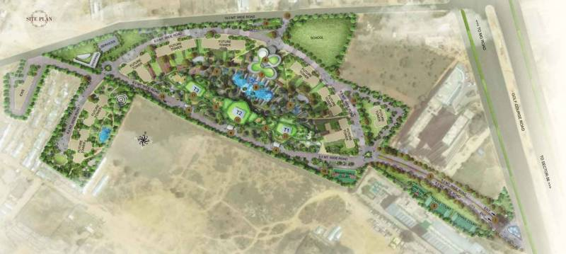 Images for Site Plan of Vipul Aarohan