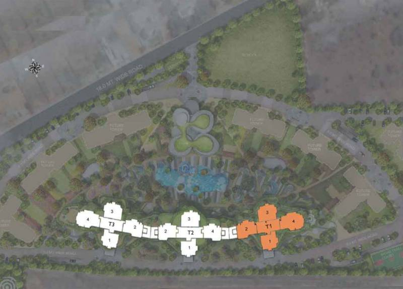 Images for Layout Plan of Vipul Aarohan