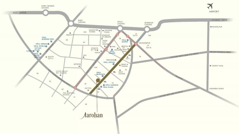 Images for Location Plan of Vipul Aarohan