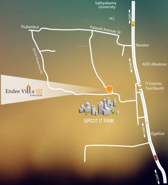 Images for Location Plan of Endee Villa III