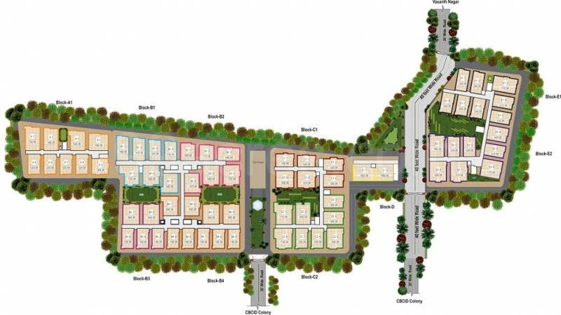 Images for Layout Plan of Bhandari Meadow Land