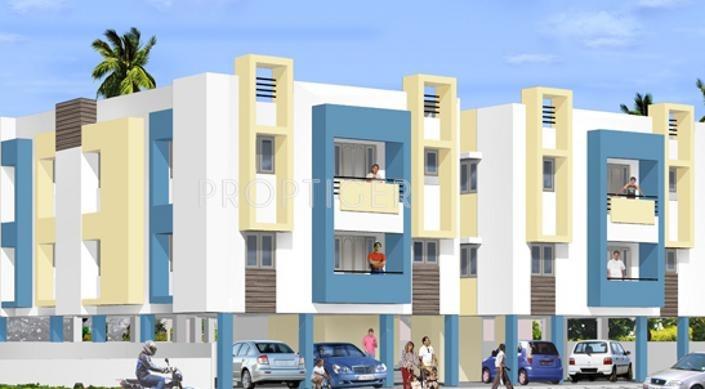 Kanya Homes Sri Suka Elevation Image