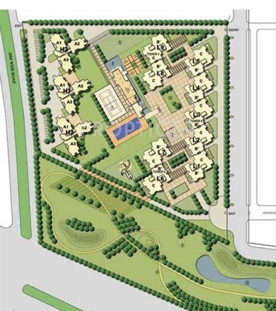 Images for Site Plan of Assotech Springfields