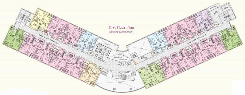 Images for Cluster Plan of Shrachi Rosedale Garden