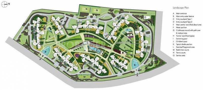 Images for Master Plan of Unitech Horizon