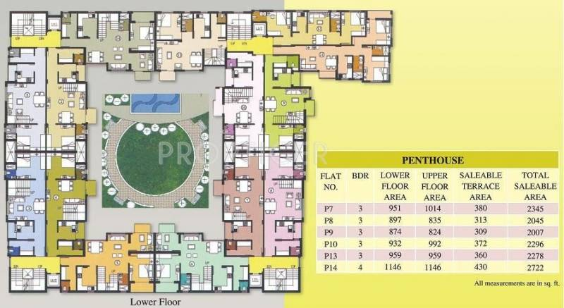 Images for Cluster Plan of Mittals Rishi Enclave