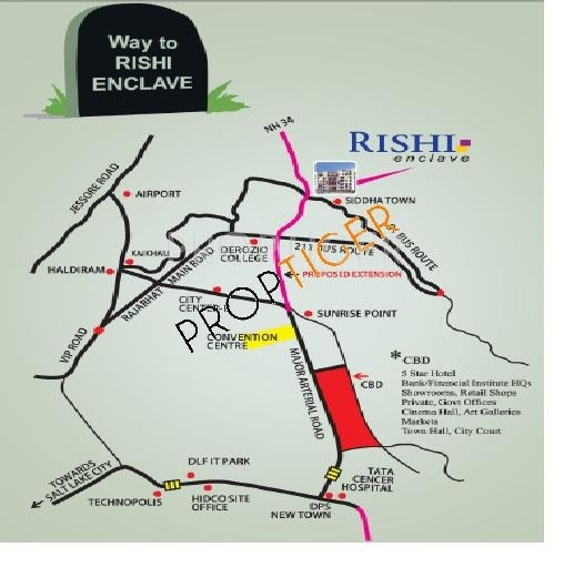 Images for Location Plan of Mittals Rishi Enclave