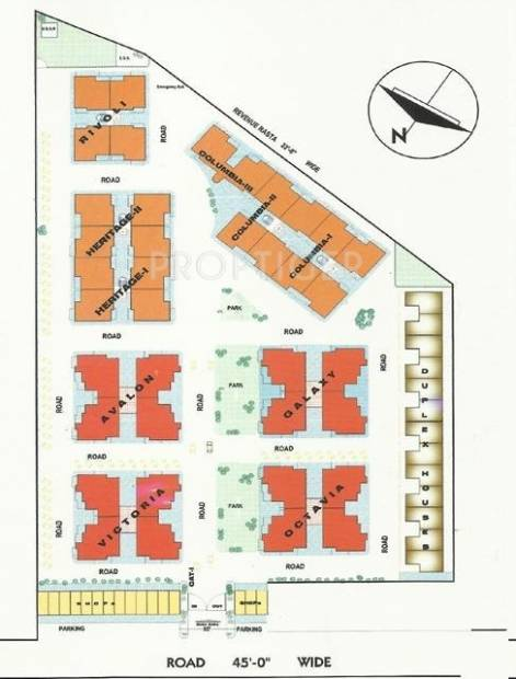 Images for Layout Plan of Opera Chandigarh Enclave