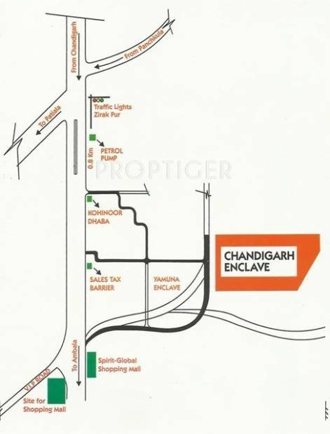 Images for Location Plan of Opera Chandigarh Enclave
