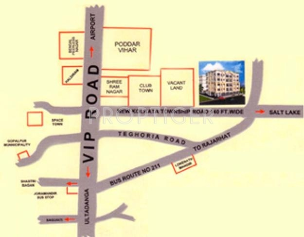 Images for Location Plan of Swagat Chinar