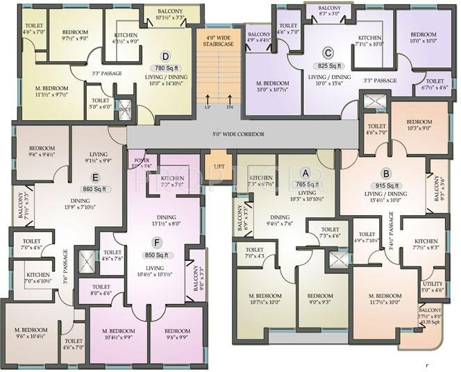 850 sq ft 2 bhk 2t apartment for sale in ranga azhal 850 sq ft