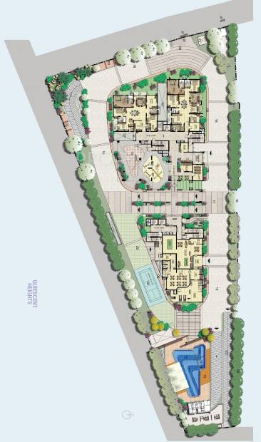 Images for Cluster Plan of Raheja Quiescent Heights