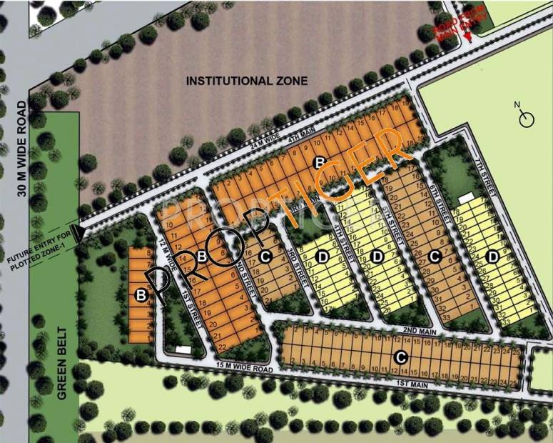 Images for Master Plan of Unitech Willows