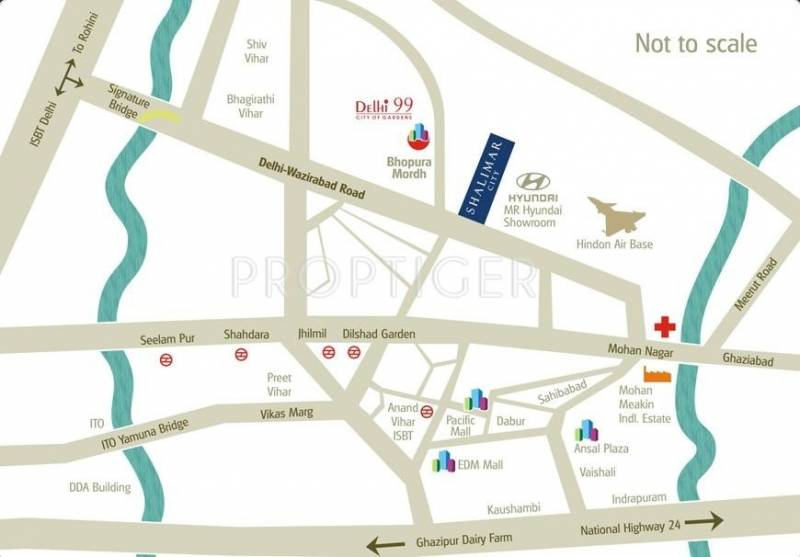 Images for Location Plan of MR Proview Shalimar City