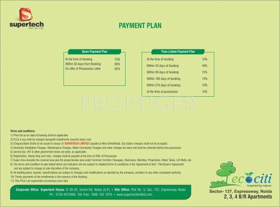 Images for Payment Plan of Supertech Ecociti
