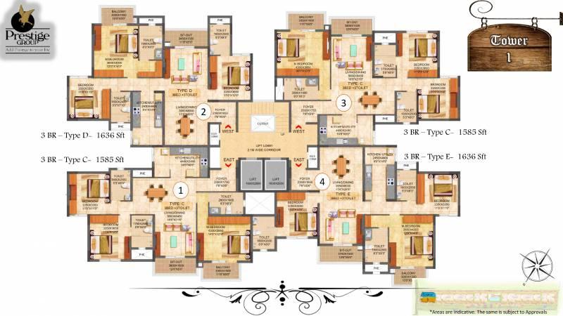 Images for Cluster Plan of Prestige Boulevard