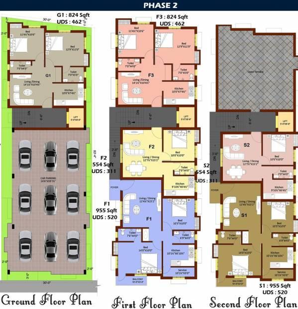 Images for Cluster Plan of Vigneshwara Kasthuris Splendour
