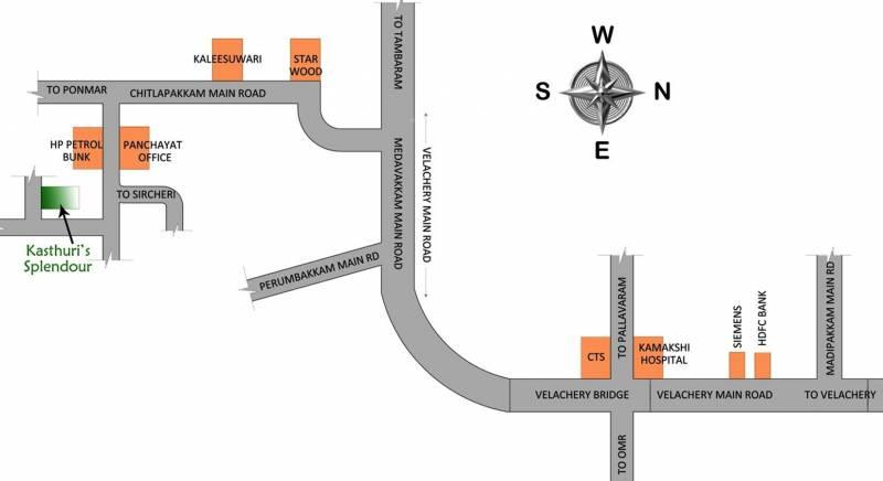 Images for Location Plan of Vigneshwara Kasthuris Splendour