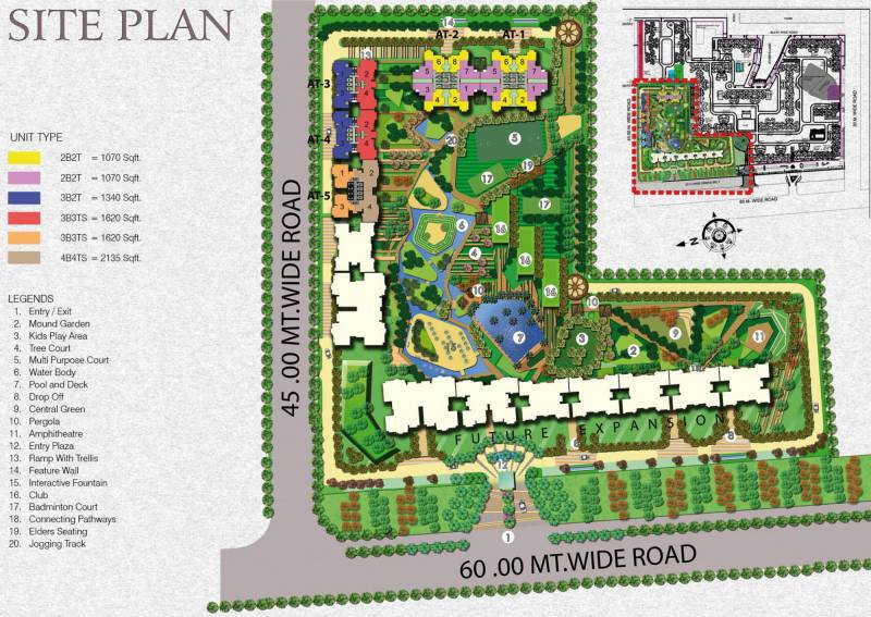 Images for Site Plan of Amrapali Aurum Towers