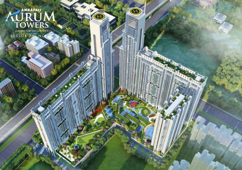 aurum-towers Images for Elevation of Amrapali Aurum Towers