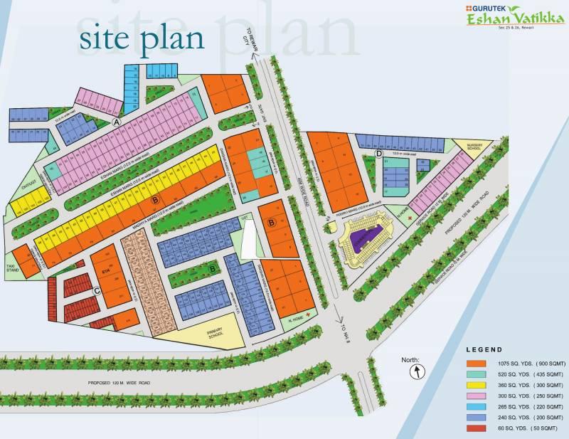 Images for Site Plan of Gurutek Eshan Vatika