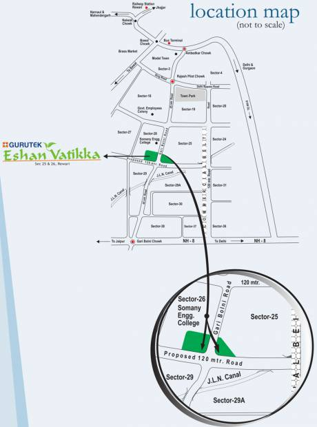 Images for Location Plan of Gurutek Eshan Vatika