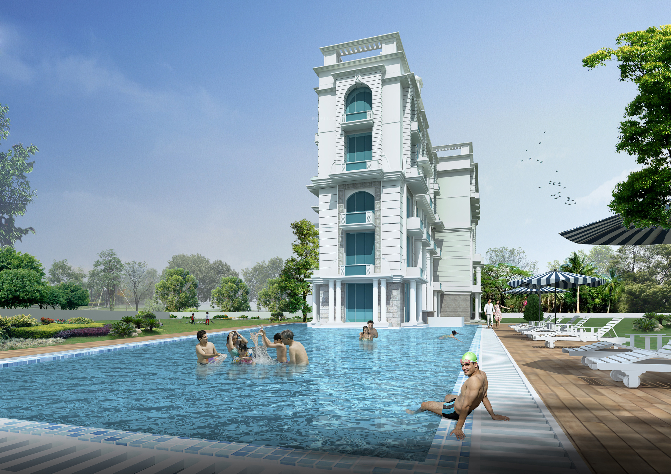 2100 sq ft 3 bhk 3t apartment for sale in aditya - Swimming pool construction cost in hyderabad ...