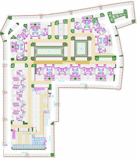 Images for Site Plan of Ansal Greenfield Residencia