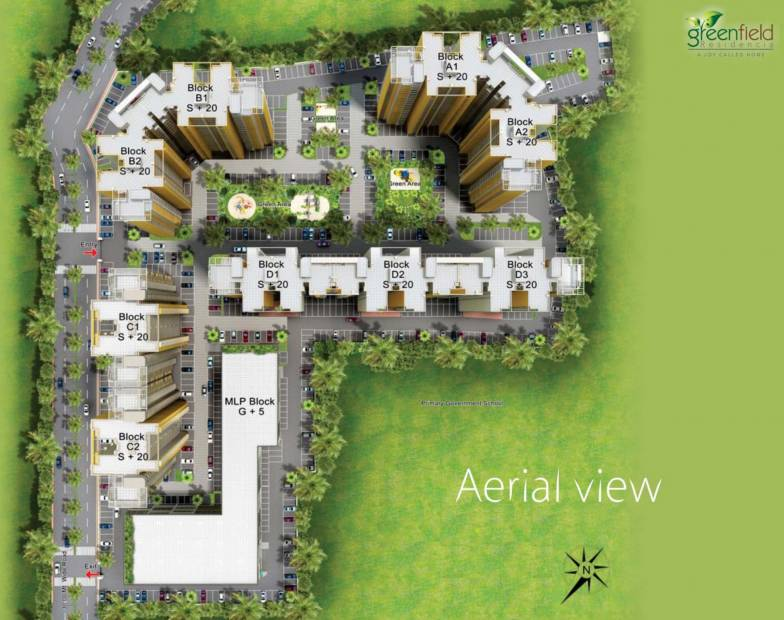 Images for Layout Plan of Ansal Greenfield Residencia