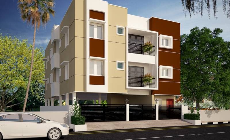 Images for Elevation of AA Construction Jayam Flats