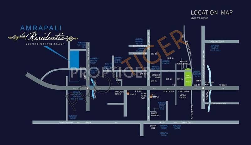 Images for Location Plan of La Residentia Pvt Ltd La Residentia