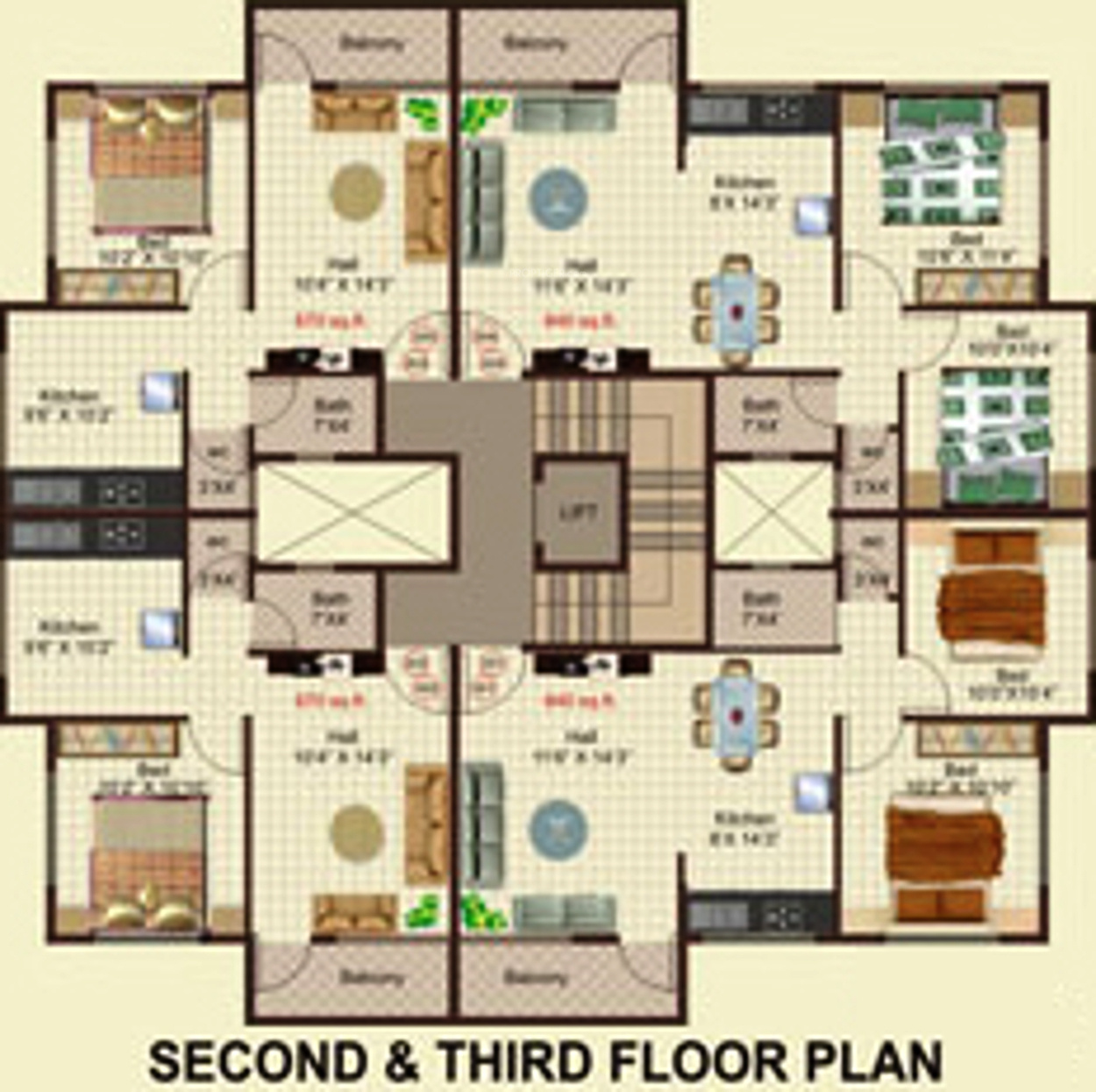 650 Sq Ft 1 Bhk 1t Apartment For Sale In Subodh Group