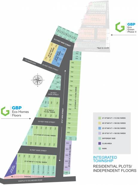 Images for Layout Plan of GBP Eco Homes